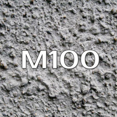 бетон на пгс м100