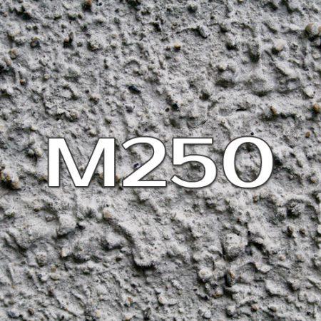 бетон на пгс м250