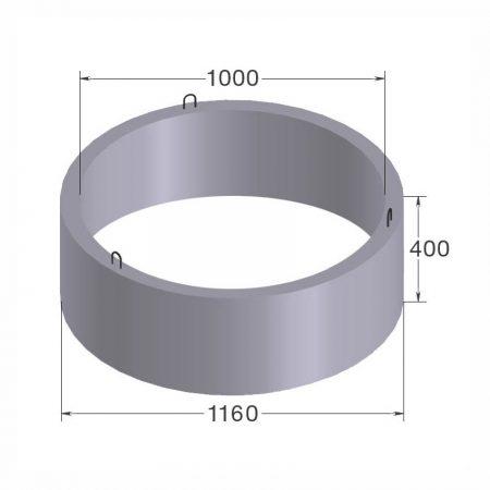 бетонное кольцо кс10.4