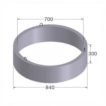 кольцо бетонное кс7.3