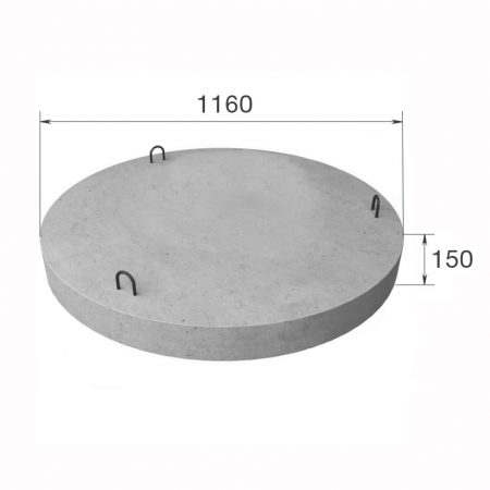 Днище колодца 1160/150